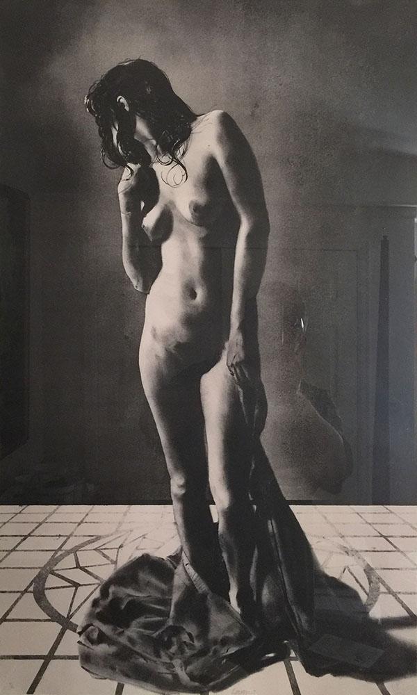 Lithograph: Lamia, lithograph, 30 x 18 inches, copyright copyright ©1976