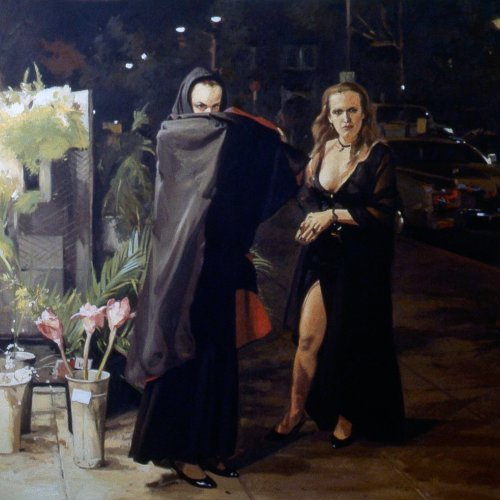 Broadway Vampires, oil on canvas, 63 x 68 inches, copyright ©1989
