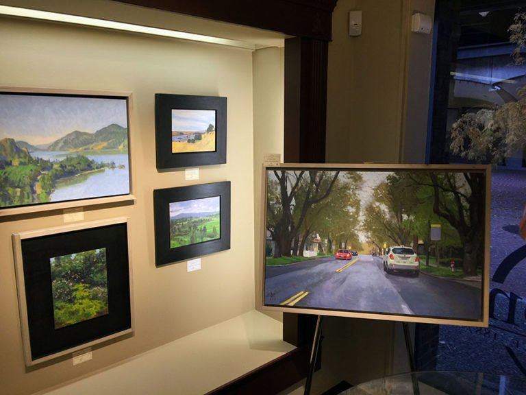 """Here, There and Everywhere"" exhibition at Dodson's Fine Jewelers"