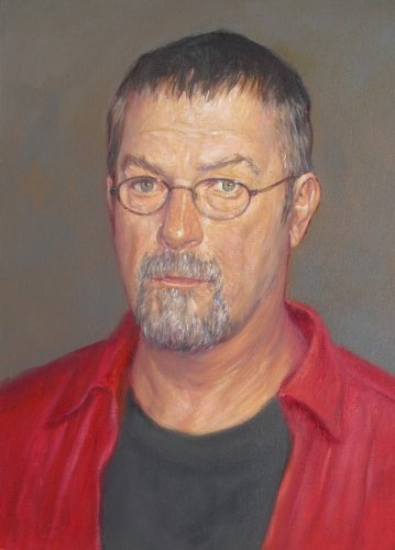 My Friend Bill, oil on canvas board, 16 x 12 inches, copyright ©2013