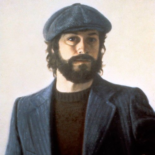 Self Portrait, NYC, oil on canvas, 24X18 inches, copyright ©1979